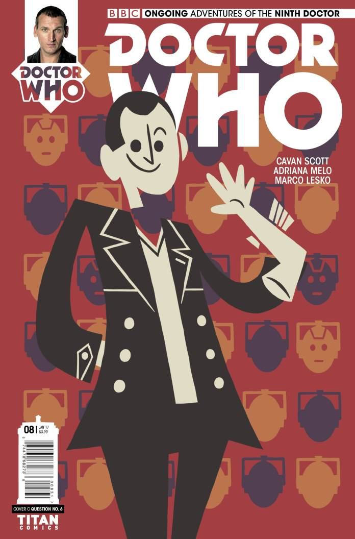 TITAN COMICS - NINTH DOCTOR #8 COVER C BY QUESTION NO.6