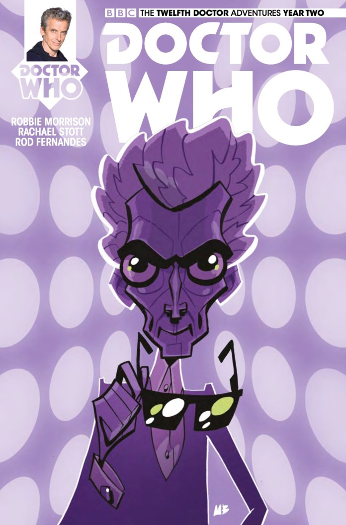 TITAN COMICS - DOCTOR WHO TWELFTH DOCTOR #2.14 - COVER C: Matt Baxter