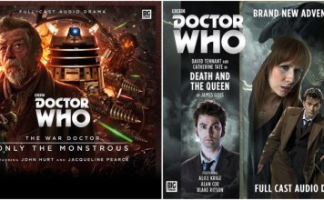 BIG FINISH - Only the Monstrous & Death and the Queen