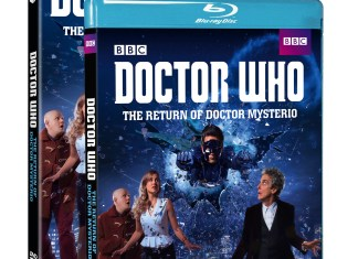 Doctor Who: The Return of Doctor Mysterio DVD and Blu-ray (c) BBC