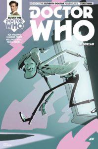 TITAN COMICS - DOCTOR WHO: ELEVENTH DOCTOR #3.2 - COVER C: Matt Baxter