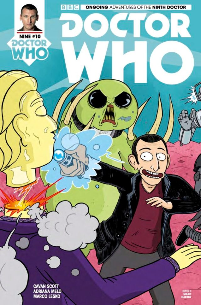 TITAN COMICS - DOCTOR WHO: NINTH DOCTOR #10 - COVER C: Marc Ellerby
