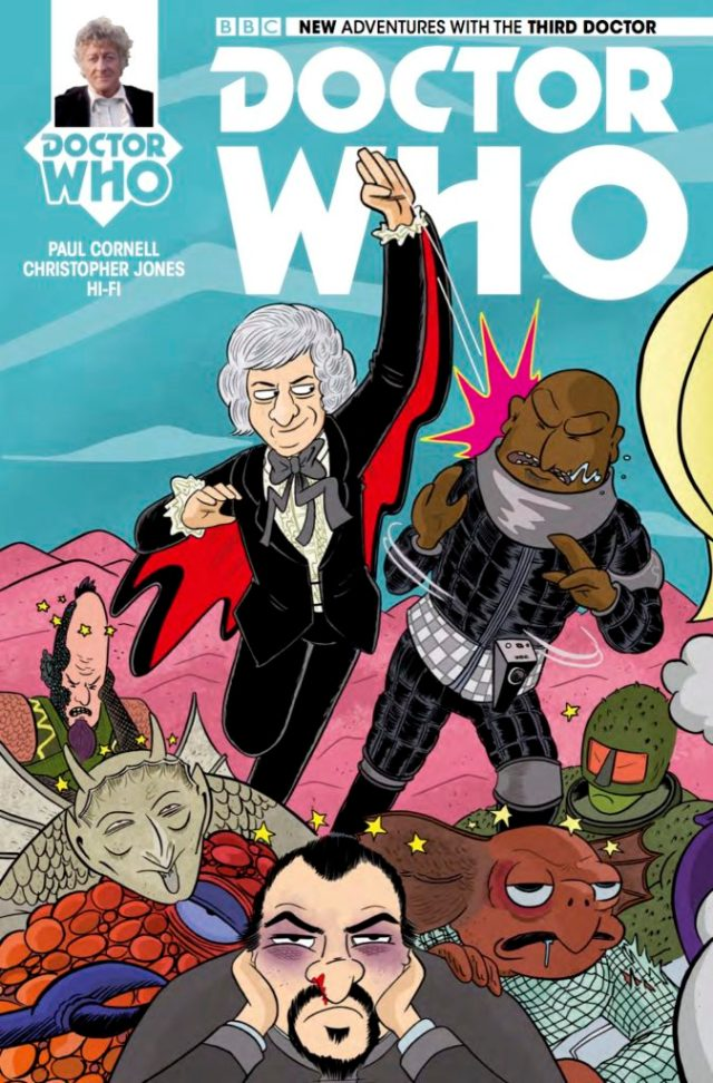TITAN COMICS - DOCTOR WHO: THIRD DOCTOR #5 - COVER E: Marc Ellerby