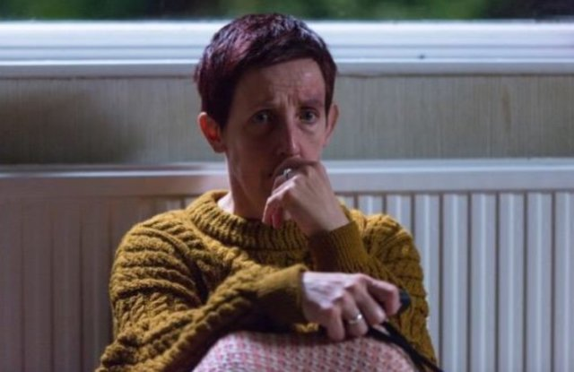 Julie Hesmondhalgh as Trish Winterman – Broadchurch Series 3 (c) ITV