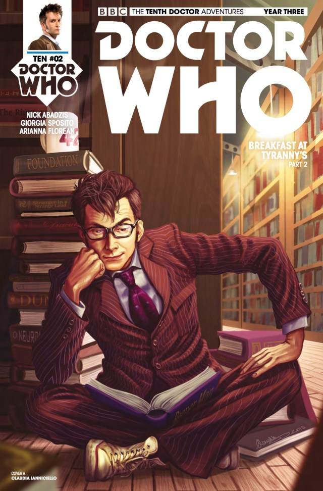 TITAN COMICS - TENTH DOCTOR 3.2 COVER A BY Claudia Ianniciello