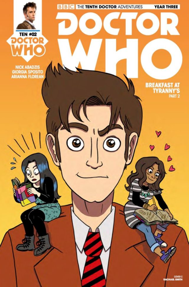 TITAN COMICS – TENTH DOCTOR 3.2 COVER C BY Rachael Smith