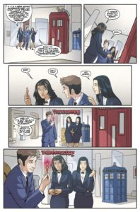 TITAN COMICS - TENTH DOCTOR 3.2 Preview 4