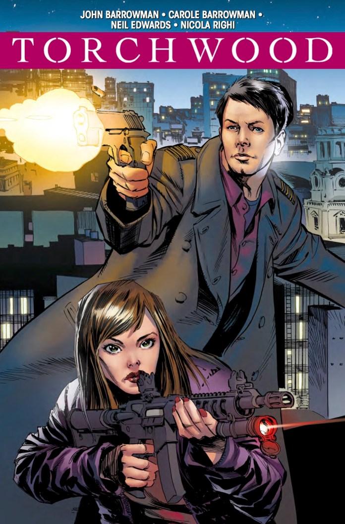 TITAN COMICS - TORCHWOOD #2.1 COVER D: STAZ JOHNSON