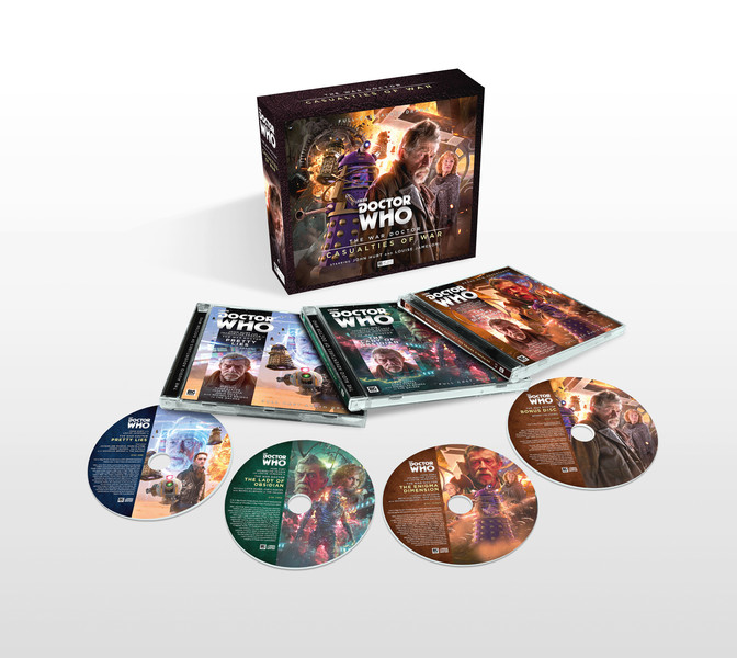 BIG FINISH - THE WAR DOCTOR VOLUME 04: CASUALTIES OF WAR - PACKSHOT