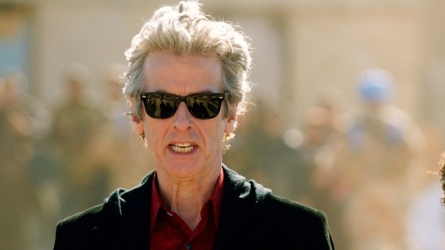 Doctor Who S10 - Screen grab from episode seven The Doctor (PETER CAPALDI) - (C) BBC - Photographer: screen grabs