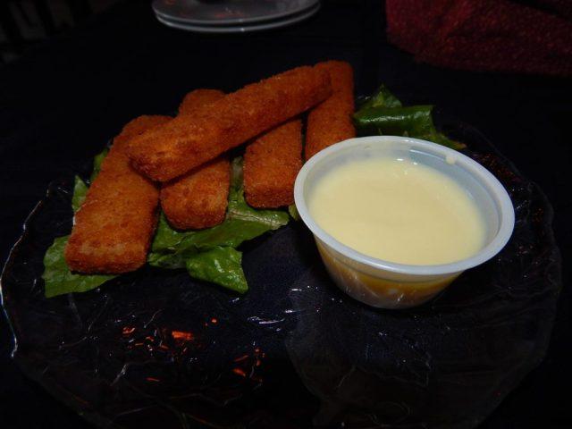 Fish Fingers and Custard - The Pandorica Restaurant New York Photo by Daniel Rice