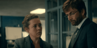 Ellie Miller (Olivia Colman) & Alec Hardy (David Tennant) - Broadchurch S03 E03 ©ITV