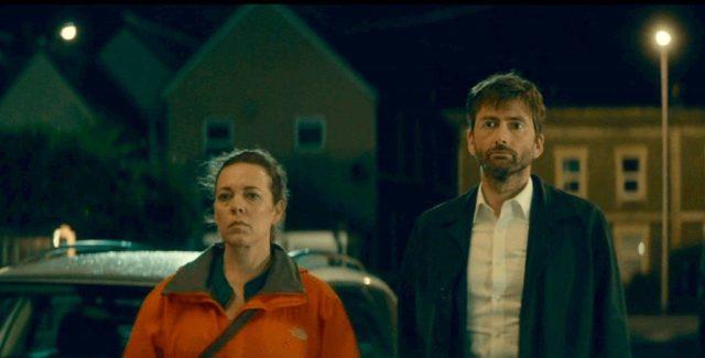 Ellie Miller (Olivia Colman) & Alec Hardy (David Tennant) - Broadchurch S03E04 ©ITV
