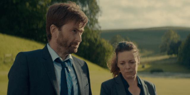 Alec Hardy (David Tennant) & Ellie Miller (Olivia Colman) - Broadchurch S03E05 ©ITV
