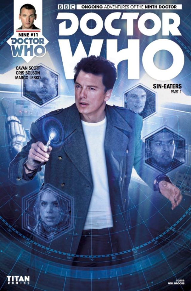 TITAN COMICS - DOCTOR WHO 9TH DOCTOR #11 ​Cover B: ​Photo, Will Brooks