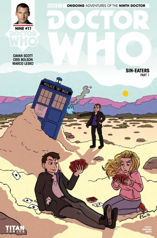TITAN COMICS - DOCTOR WHO 9TH DOCTOR #11 ​Cover C: ​Rachael Smith
