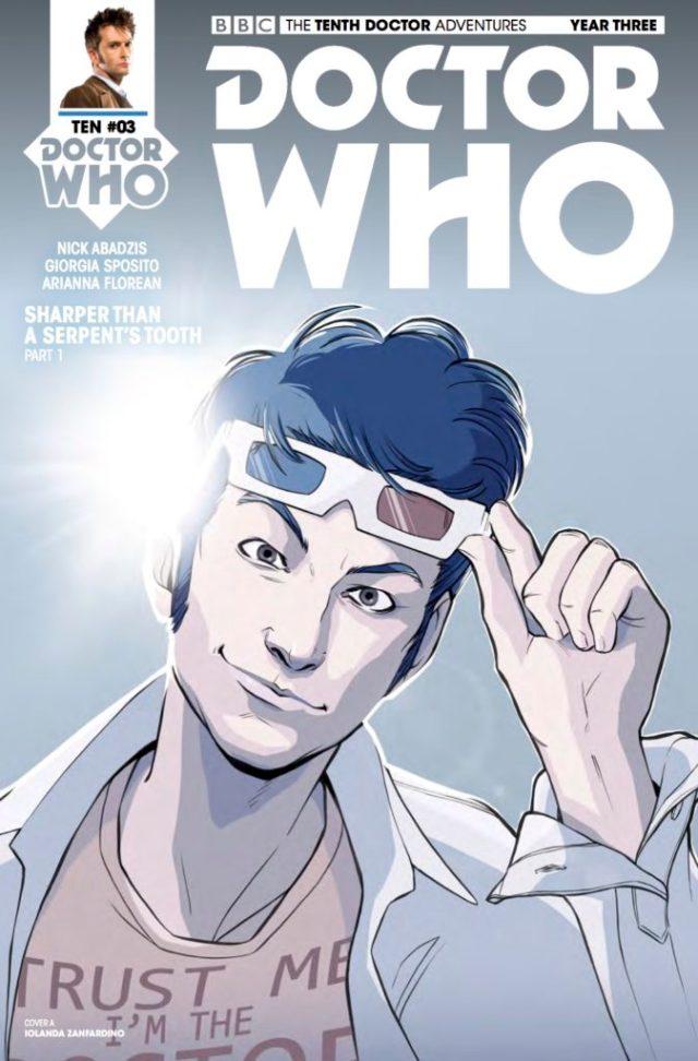 DOCTOR WHO: TENTH DOCTOR #3.3 COVER A: Iolanda Zanfardino
