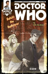 DOCTOR WHO: TENTH DOCTOR #3.3 COVER D: Arianna Florean