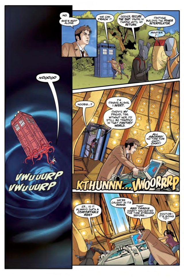 DOCTOR WHO: TENTH DOCTOR #3.3 PREVIEW 1
