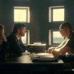 Ellie Miller (Olivia Colman), Alec Hardy (David Tennant) & Ed Burnett (Sir Lenny Henry) - Broadchurch S03E06 ©ITV