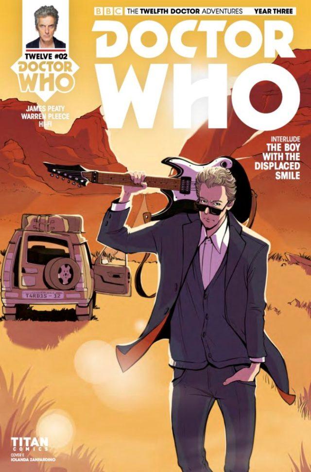 DOCTOR WHO: TWELFTH DOCTOR YEAR 3 #2 COVER E - Iolanda Zanfardino