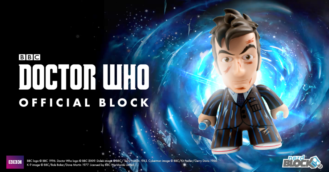 Nerd Block Tenth Doctor