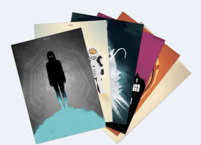 Doctor Who Series 10 DVD & Blu-Ray Art Cards
