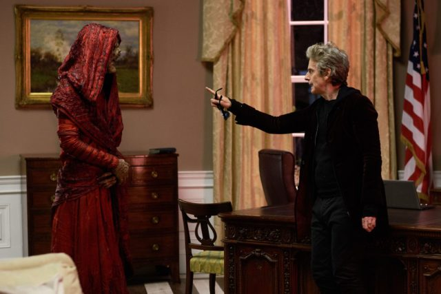 Doctor Who S10 - Episode: Extremis (No. 6) - Picture Shows: Monk, The Doctor (PETER CAPALDI) - (C) BBC/BBC Worldwide - Photographer: Simon Ridgway