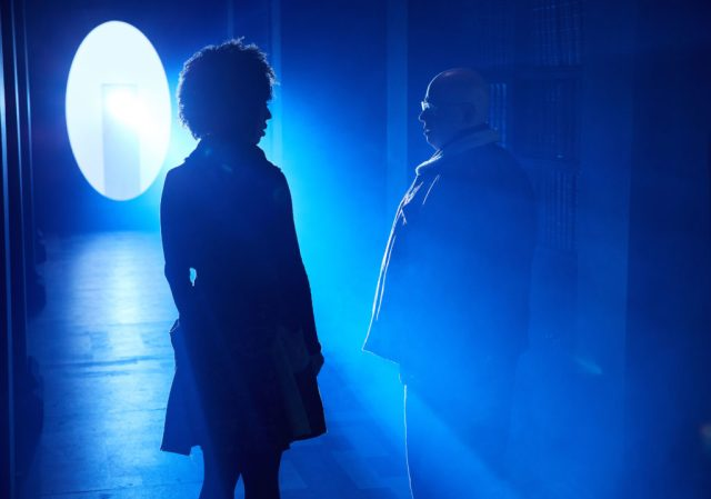 Doctor Who S10 - Episode: Extremis (No. 6) - Picture Shows: Bill (PEARL MACKIE), Nardole (MATT LUCAS) - (C) BBC/BBC Worldwide - Photographer: Simon Ridgway