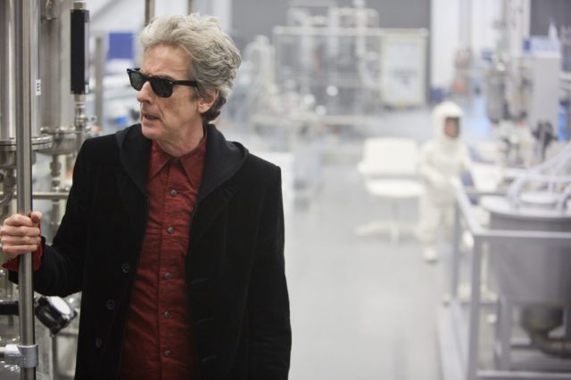 Doctor Who - The Pyramid At The end Of The World (No. 7) - The Doctor (PETER CAPALDI) - (C) BBC/BBC Worldwide - Photographer: Simon Ridgway