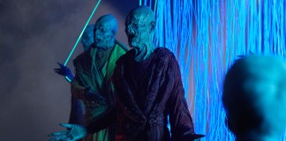 Doctor Who - The Pyramid At The end Of The World (No. 7) -Monks - (C) BBC/BBC Worldwide - Photographer: Simon Ridgway