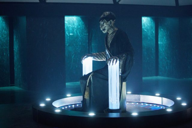 Doctor Who: The Lie of The Land (No. 8) - Monk - (C) BBC/BBC Worldwide - Photographer: Simon Ridgway