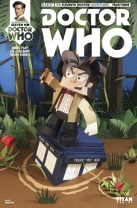 TITAN COMICS - Doctor Who : The Eleventh Doctor Year Three #5 Cover C: LINKED SET OF FOUR By Ryan Hall