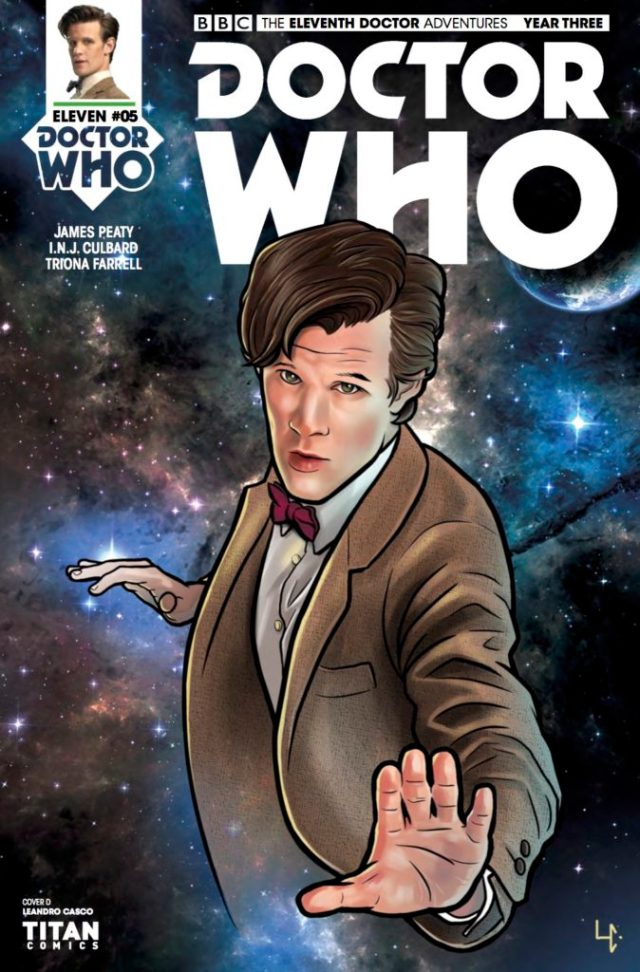 TITAN COMICS - Doctor Who : The Eleventh Doctor Year Three #5 Cover D: Leandro Casco