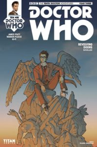 TITAN COMICS - TENTH DOCTOR YEAR THREE #5 - COVER D: IOLANDA ZANFARDINO