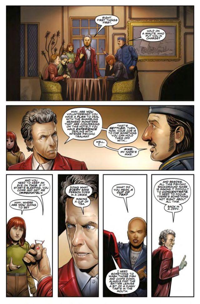 TITAN COMICS - TWELFTH DOCTOR YEAR THREE #3
