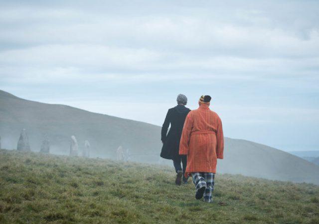 Doctor Who S10 - The Eaters of Light (No. 10) - The Doctor (PETER CAPALDI), Nardole (MATT LUCAS) - (C) BBC/BBC Worldwide - Photographer: Simon Ridgway