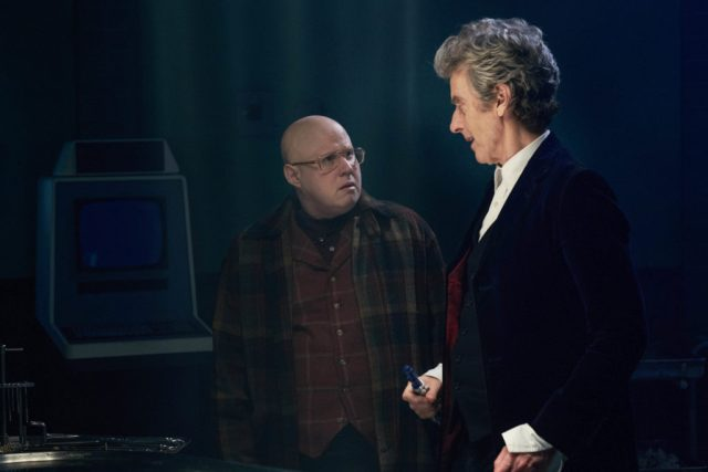 Doctor Who S10 – World Enough and Time – Nardole (MATT LUCAS) and The Doctor (PETER CAPALDI) - (C) BBC/BBC Worldwide - Photographer: Simon Ridgway