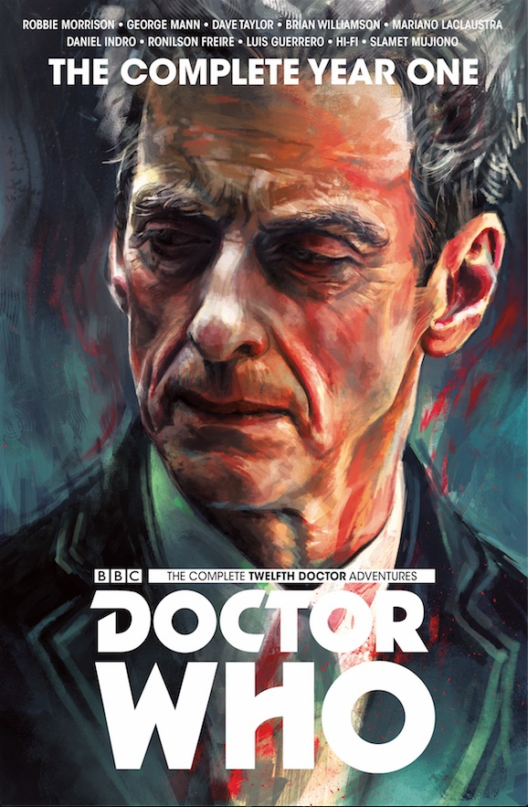 TITAN COMICS - TWELFTH DOCTOR: THE COMPLETE YEAR ONE