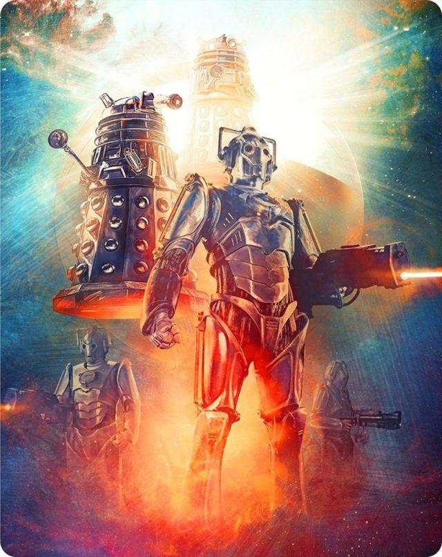 Doctor Who Series 2 Steelbook Back