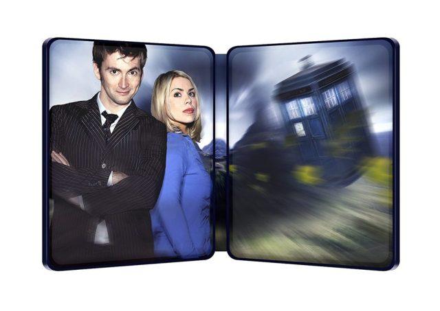 Doctor Who Series 2 Steelbook Inside