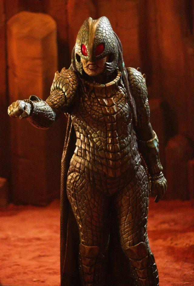 Doctor Who S10 Empress of Mars (No. 9) Iraxxa (ADELE LYNCH) - (C) BBC/BBC Worldwide - Photographer: Simon Ridgway