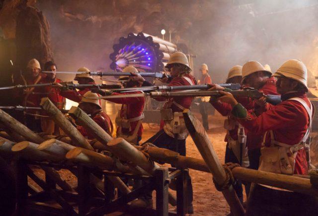 Doctor Who S10 - Empress of Mars (No. 9) - Soldiers - (C) BBC/BBC Worldwide - Photographer: Jon Hall