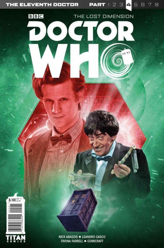 TITAN COMICS ELEVENTH DOCTOR #3.10 Cover B: Will Brooks