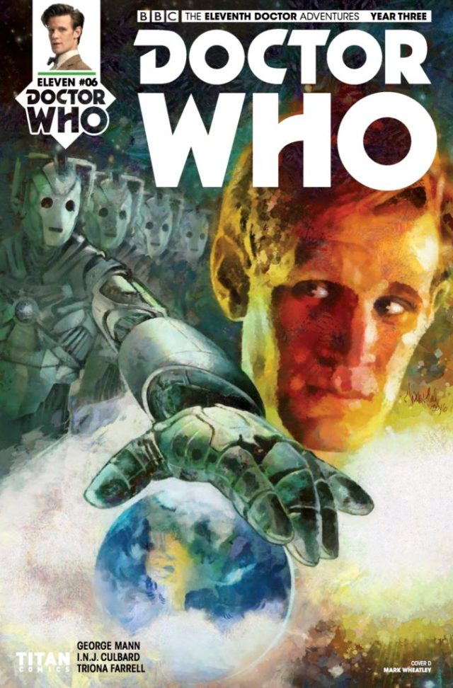 TITAN COMICS - DOCTOR WHO: ELEVENTH DOCTOR YEAR 3 #6 Cover D Mark Wheatley