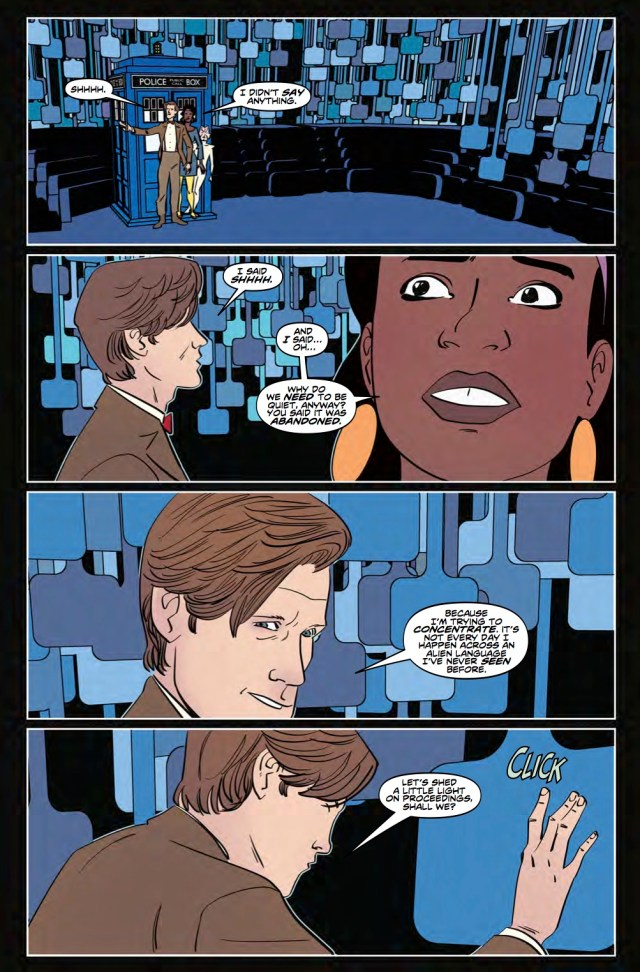 TITAN COMICS - DOCTOR WHO: ELEVENTH DOCTOR YEAR 3 #6