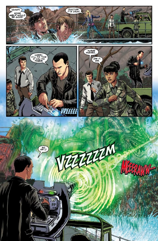 DOCTOR WHO: NINTH DOCTOR VOL. 3 - OFFICIAL SECRETS