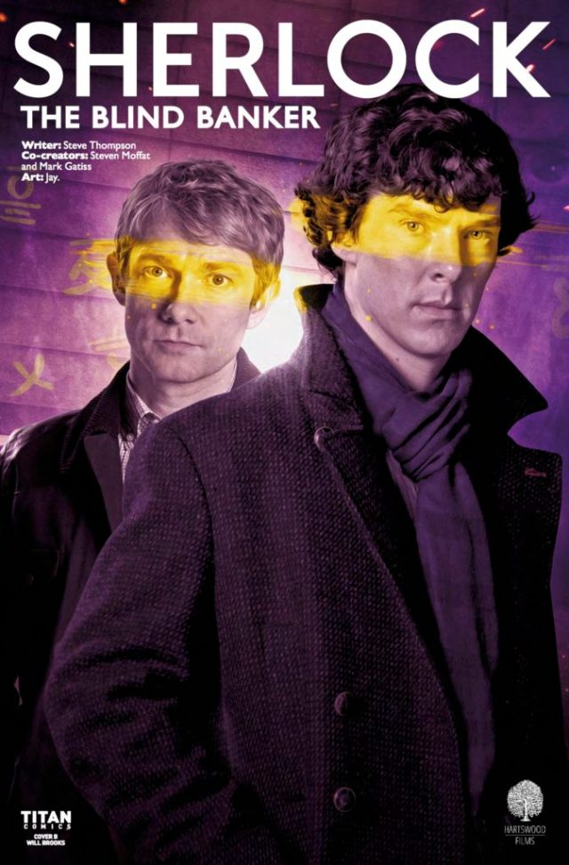 SHERLOCK: THE BLIND BANKER #6 COVER B BY WILL BROOKS