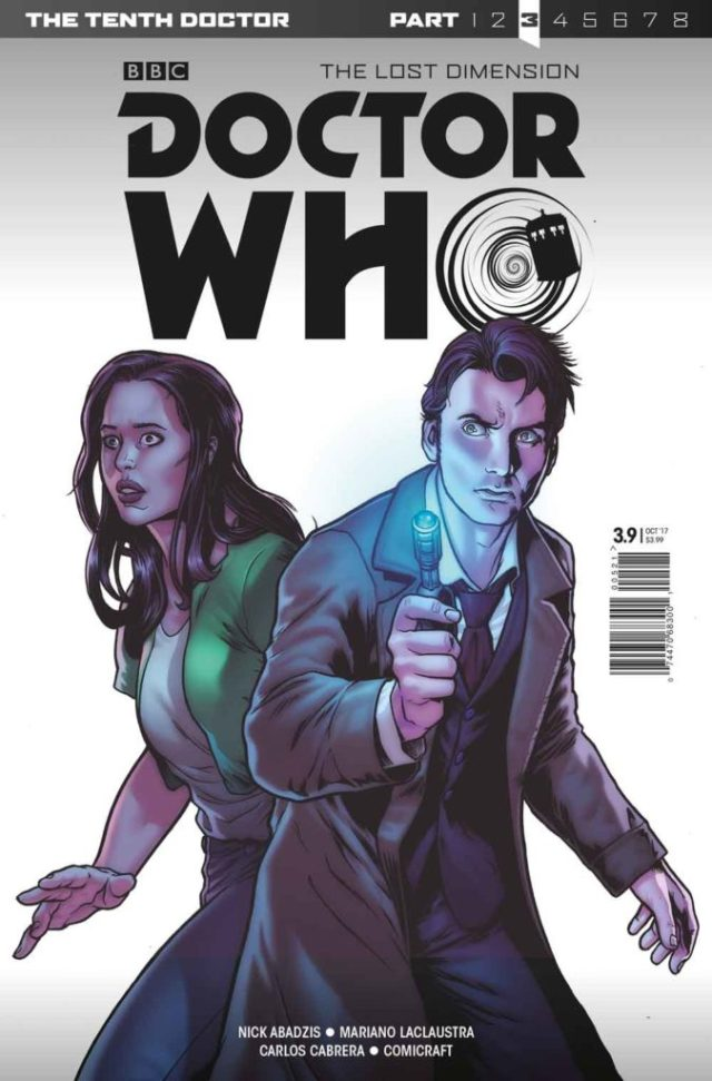 TITAN COMICS TENTH DOCTOR #3.9 - Cover A: Tazio Bettin and Luis Guerrero