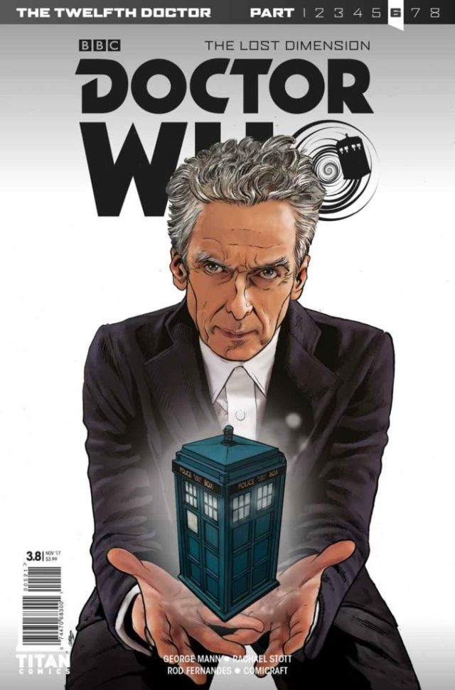 TITAN COMICS - TWELFTH DOCTOR #3.8 Cover A: Klebs Jr